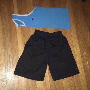 Old navy go dry black shorts size 10/12